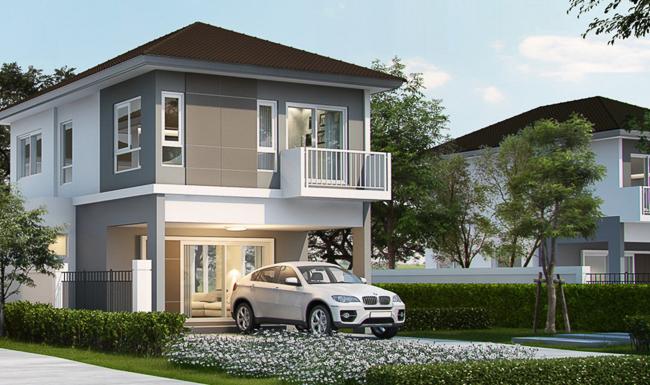 แปลนบ้าน Supalai Bella Ubonratchathani