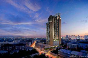 พื้นที่ส่วนกลาง THE STAGE Mindscape RATCHADA-HUAI KHWANG