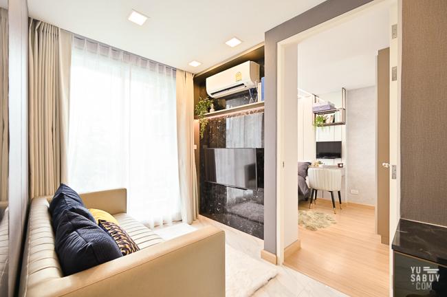 ห้องตัวอย่าง Bless Residence Ekkamai