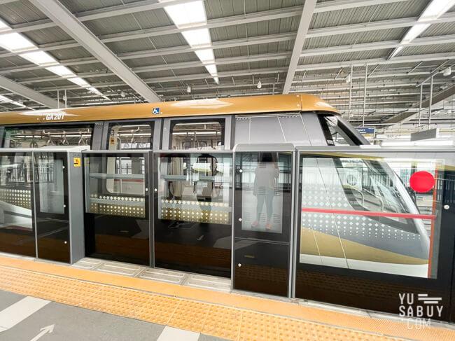รถไฟฟ้าสายสีทอง