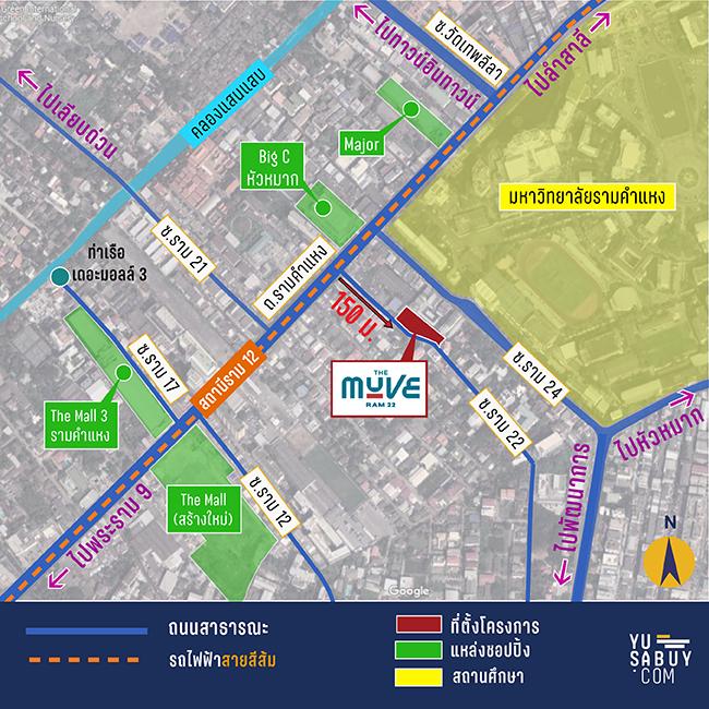 แผนที่คอนโด-The-Muve-Ram-22