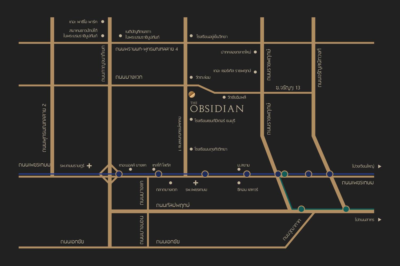The Obsidian Phutthamonthon Sai 1 (ดิ ออปซิเดียน พุทธมณฑลสาย 1)