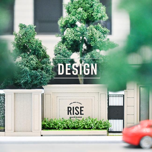 งานออกแบบ Rise เจริญนคร