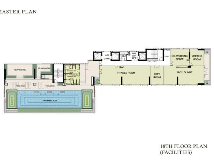 Floor Plan ชั้น 18
