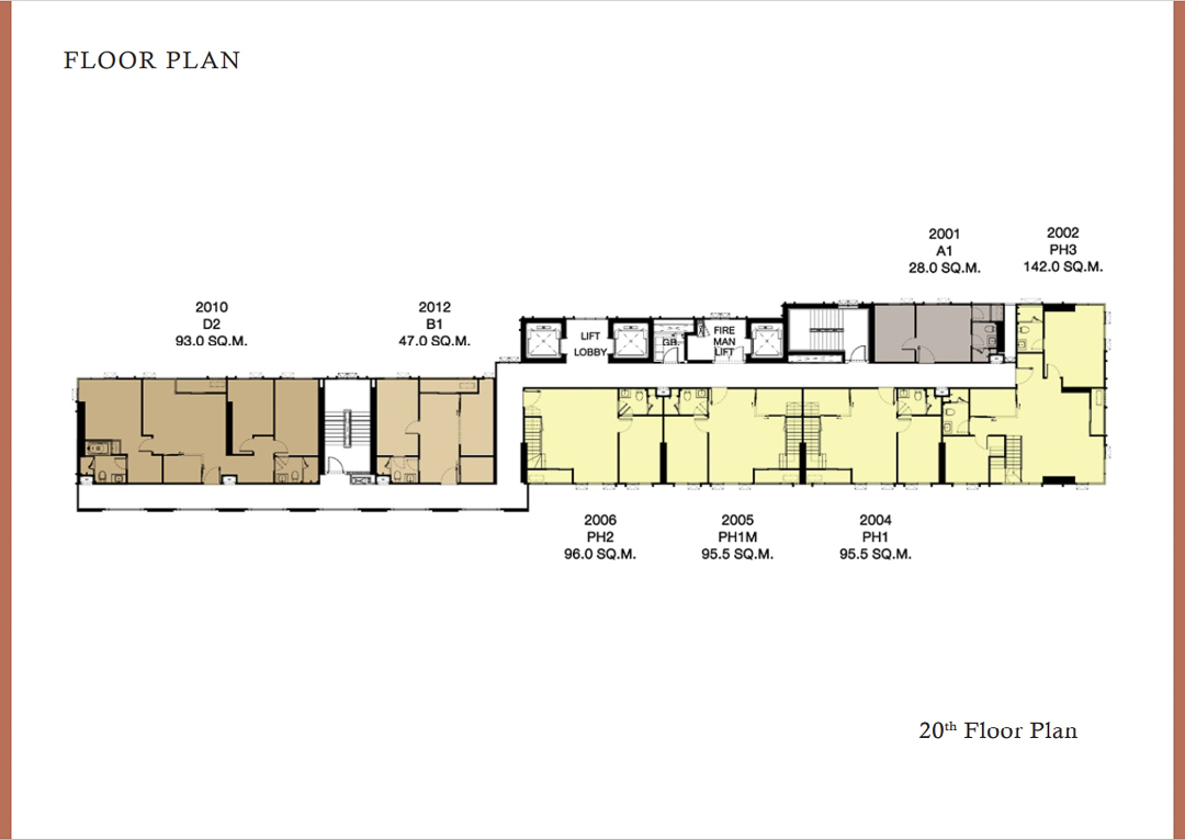 Floor Plan 20th