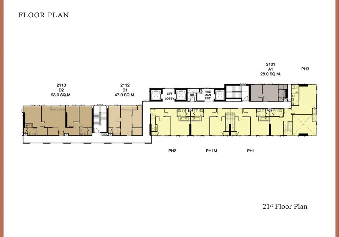 Floor Plan 21th