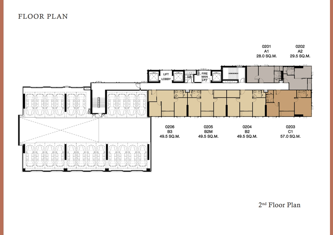 Floor Plan 2th