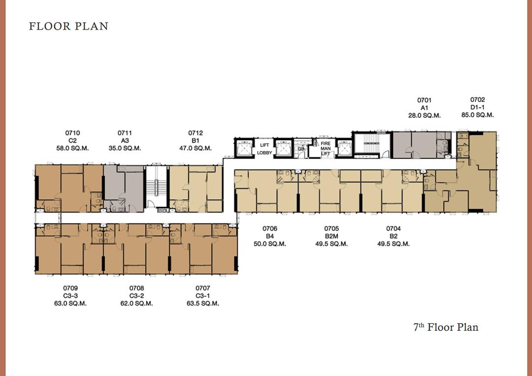 Floor Plan 7th
