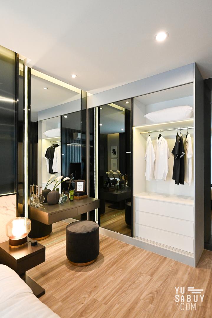 ตู้เสื้อผ้า Built-in