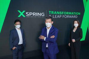"""""""XSPRING""""พร้อมรุกสร้างโอกาสให้นักลงทุน  เชื่อมโลกการเงินปัจจุบันเข้ากับโลกการเงินดิจิทัลแบบครบวงจร ชู 3 ปัจจัยแกร่ง """"พันธมิตร – เงินทุน – ไลเซนส์""""  มั่นใจโตก้าวกระโดดรับตลาดเงินดิจิทัลทั่วโลกกว่า 40 ล้านล้านบาท"""