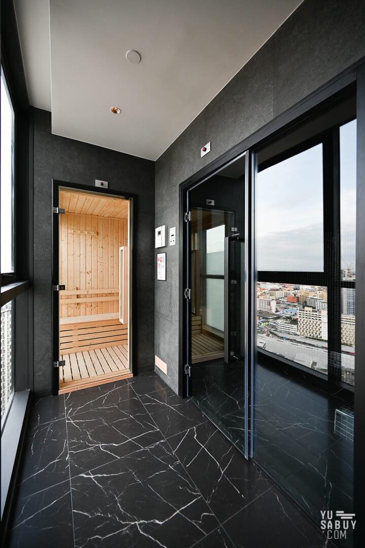 Sauna and Stream room